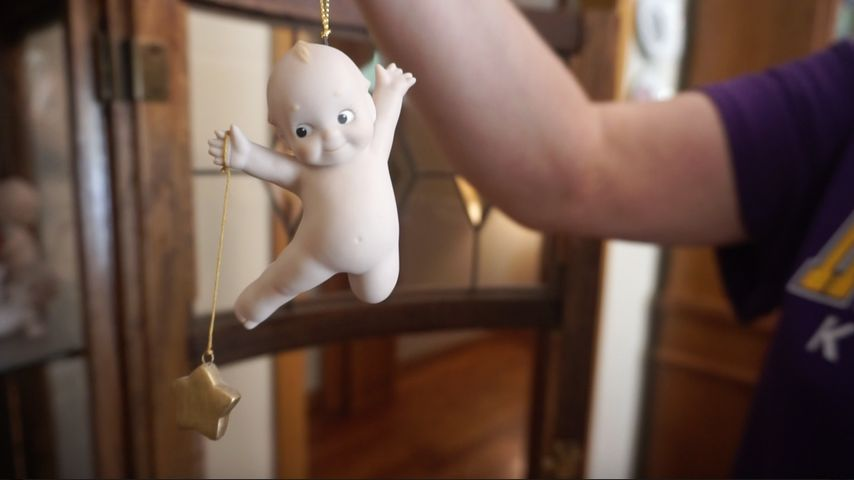 It took Alice Ramey five years to find this Kewpie to add to her collection. The highly sought-after doll was part of UNESCO's line.