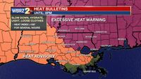 Excessive Heat Warning issued for Baton Rouge area