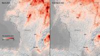 European pollution greatly decreases amid Covid-19