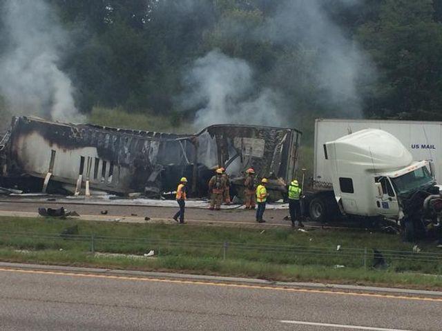 I-70 closes after fatal semi truck fire, accident