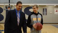 Story image: Battle Spartans father and son seek second straight district title