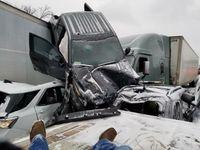 Story image: I-44 closed while multiple-vehicle car crash cleaned up