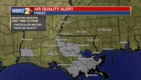 Air Quality Action Day for Baton Rouge area