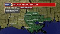 Flash Flood Watch issued through Tuesday