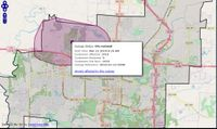 Story image: Power back on after outage affecting 1,400 near Cosmo Park