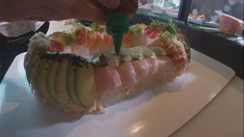 Local business shows off 'fishy' take on Mardi Gras delicacy - WBRZ