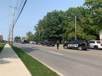 Heavy Columbia police presence near College Ave, Rogers St