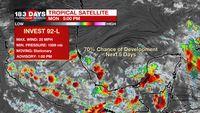 Summer pattern through Thursday, tropical rainfall possible beyond