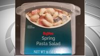 Story image: Hy-Vee recalls pasta salad after at least 20 people get sick