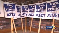 Local customers may be affected as AT&T employees go on strike