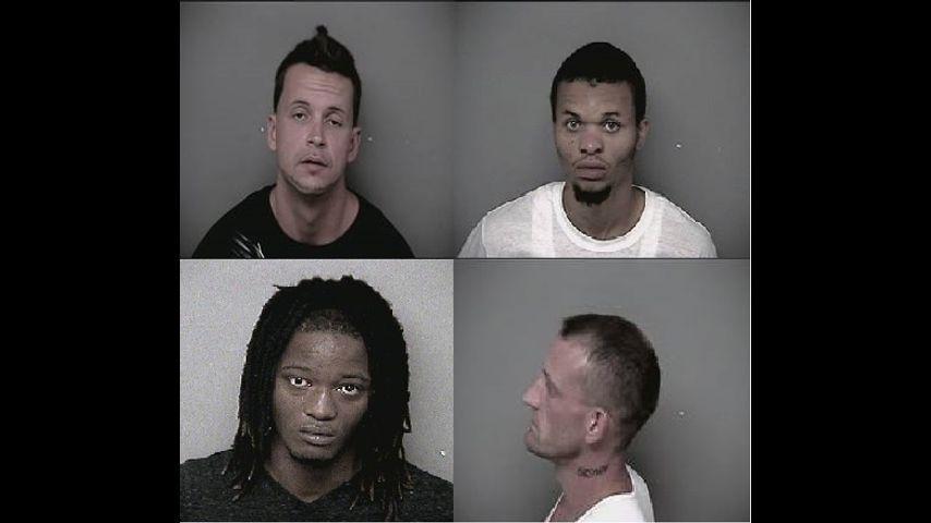 Four arrests in Jefferson City SWAT Team drug bust