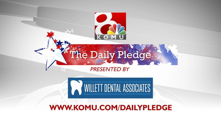 In schools across the country, children begin their day with The Pledge of Allegiance. The Daily Pledge on KOMU 8 is brought to you by Willett & Patton Dentistry - creating beautiful smiles, one visit at a time