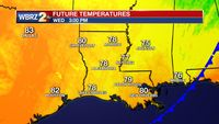 Monday PM Forecast: cold front to deliver big temperature changes