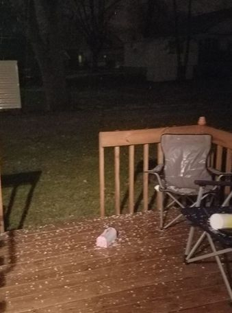 Whittney Good sent this picture to KOMU.