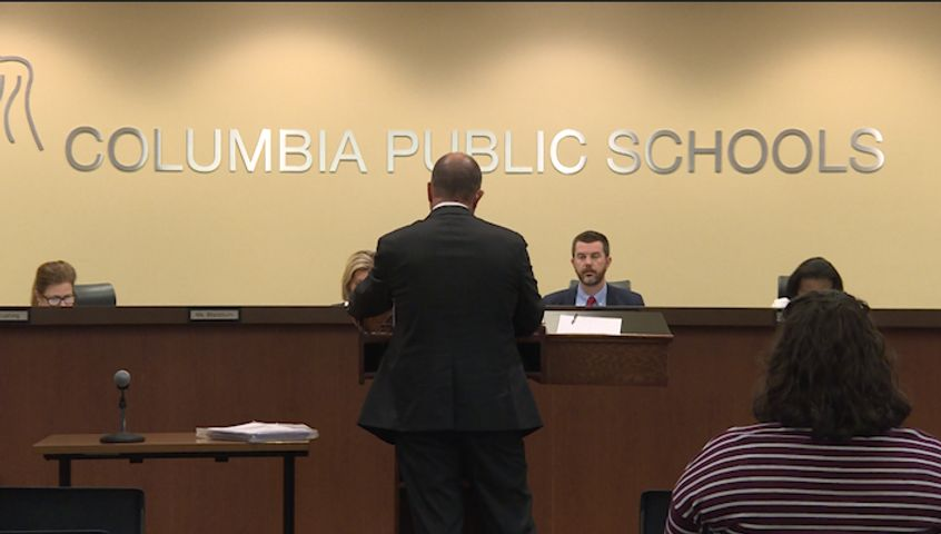 At Columbia's Board of Education meeting on Monday night, the board discussed changes to the current seclusion, restraint and isolation policy. The policy has been a topic of debate for months.