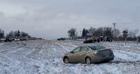 Story image: UPDATE: At least one fatality reported amid numerous morning crashes