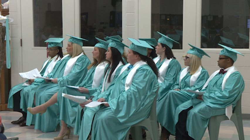 The ten new graduates of the Aspire MO program. The entrepreneurial program helps incarcerated women learn how to start their own business, interview skills and personal branding.