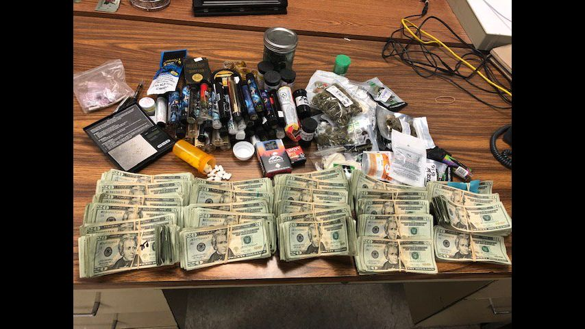 Routine traffic stop leads to big drug bust