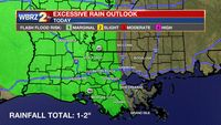 Periods of Heavy Rainfall Possible Today