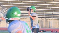 Story image: Dylan Hair picks up where his brothers left off as Blair Oaks' quarterback