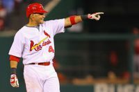 Story image: Cardinals player Yadier Molina tests positive for COVID-19