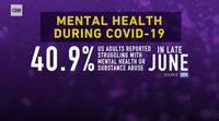 A 'second wave' of mental health devastation due to COVID-19 is imminent, experts say