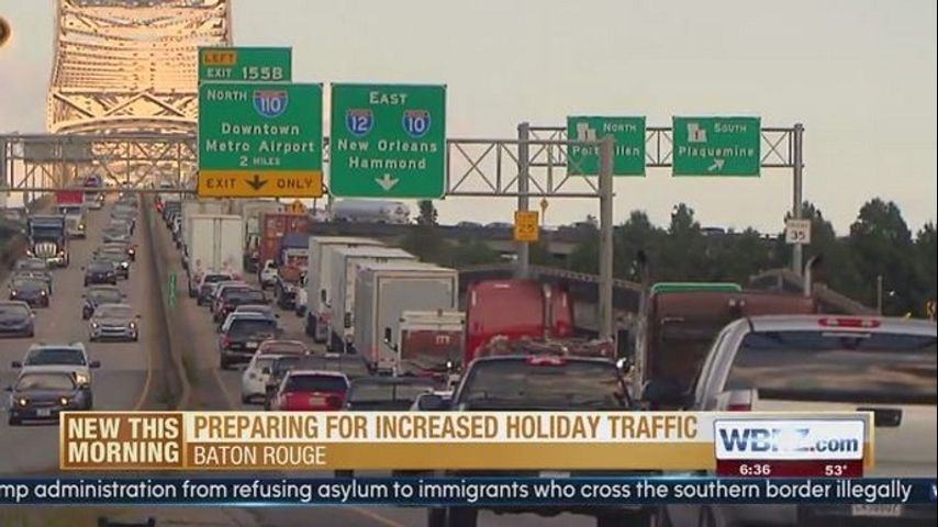 Officials urge drivers to prepare ahead of holiday traffic