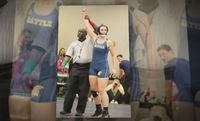 Story image: Battle athlete becomes first CPS student to be a collegiate girl wrestler